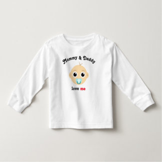 Mommy & Daddy love ME Toddler T-Shirt