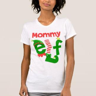 Mommy Elf Tee Shirts