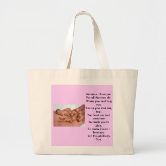 Mommy, I love you Canvas Bag