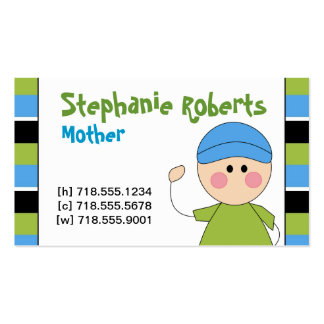 Mommy Info Card Business Card