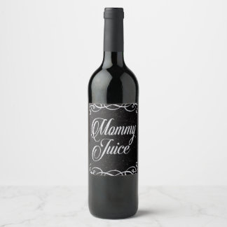 Mommy Juice Sassy Girls Night Out Fun Wine Label