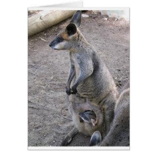 Mommy Kangaroo Card