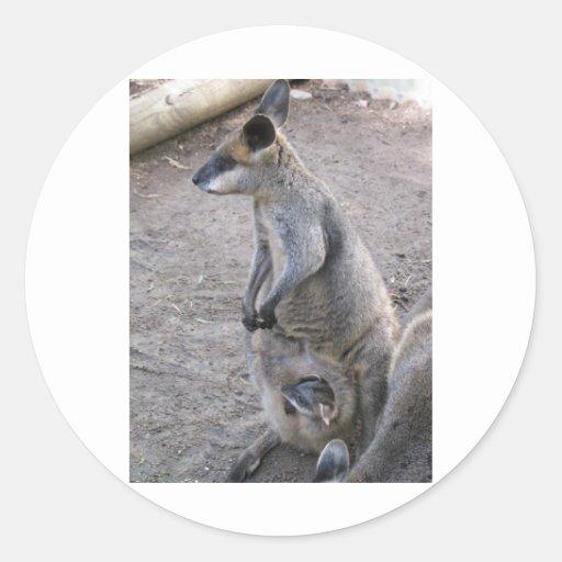 Mommy Kangaroo Sticker