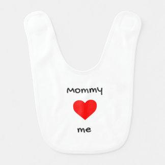 Mommy Loves Me Baby Bib