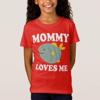 Mommy Loves Me Son Daughter Boy Girl T-Shirt