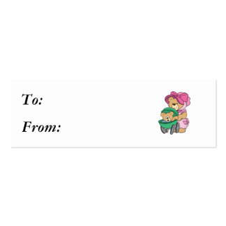 Mommy N Baby Bear in Stroller Business Card Templates