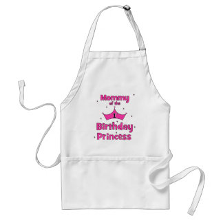 Mommy Of The 1st Birthday Princess! Standard Apron