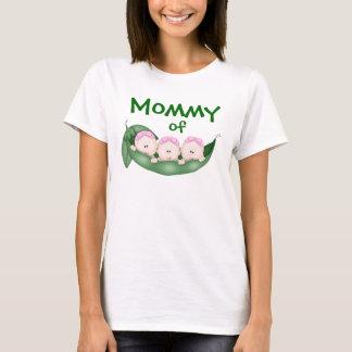 Mommy of Triplet Girls T-Shirt