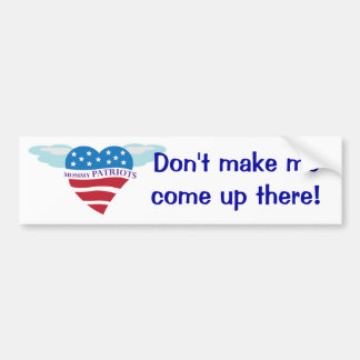 Mommy Patriots bumper sticker