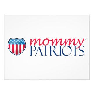 Mommy Patriots Personalized Invite