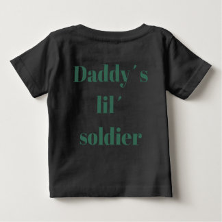 Mommy´s lil´ pumpkin daddy´s lil´ soldier T-shirt