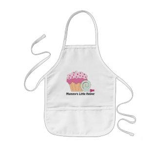 Mommy s Little Helper cupcake apron