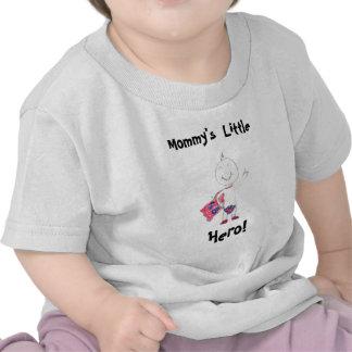 Mommy s Little Hero Shirt