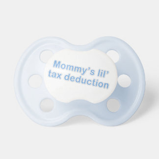 mommy s little tax deduction pacifiers