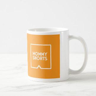 Mommy Shorts Mug - Orange