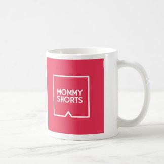 Mommy Shorts Mug - Red