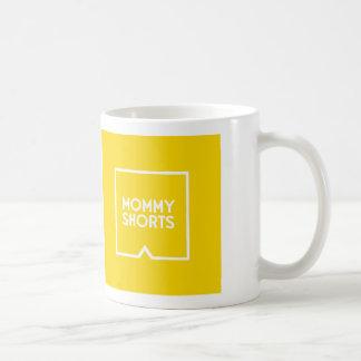 Mommy Shorts Mug - Yellow