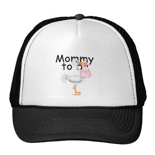 mommy to be. Maternity Stork Trucker Hat