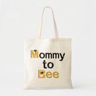 Mommy to Bee Budget Tote Bag