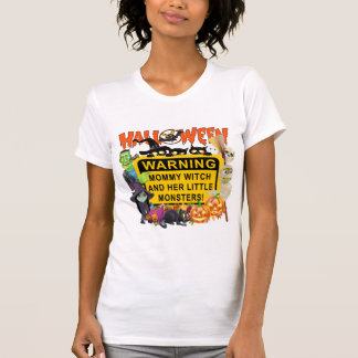 Mommy Witch Halloween T-Shirt