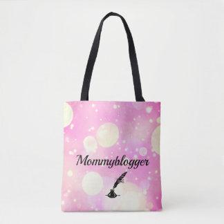 Mommyblogger design tote bag