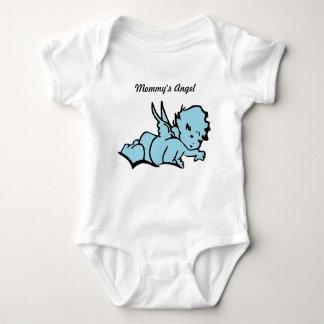 Mommy's Angel Bodysuit Blue