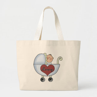 Mommy's Baby Boy Tote Bag