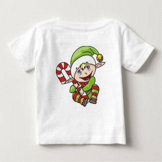 MOMMYS ELF CHRISTMAS T-SHIRT FOR BABY
