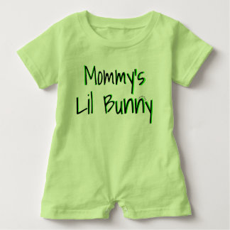 Mommy's Lil Bunny Easter Unisex Outfit Baby Bodysuit