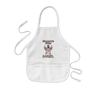 Mommy's Little Angel apron