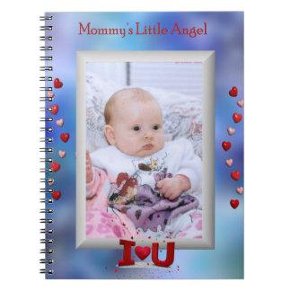 """""""Mommy's Little Angel"""" little girl or boy notebook"""
