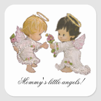 Mommy's Little Angels! Sticker