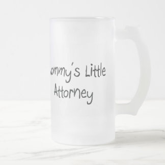 Mommy's Little Attorney Coffee Mugs