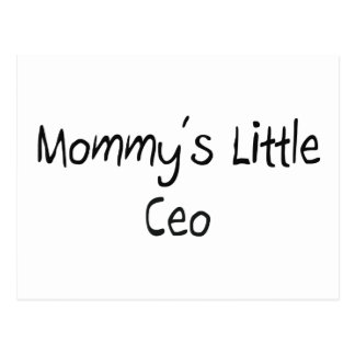 Mommys Little Ceo Postcard
