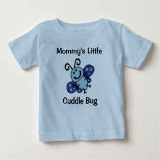 """Mommy's little cuddle bug"" T-Shirt"