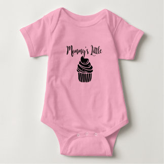 Mommy's Little Cupcake Baby Bodysuit