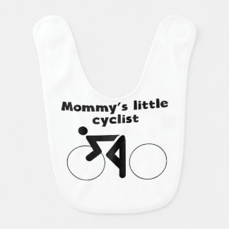 Mommy's Little Cyclist Bib