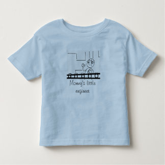 Mommy's Little Engineer Toddler T-Shirt