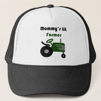 Mommy's Little Farmer Trucker Hat