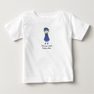 Mommy's Little Fashion Plate Baby T-Shirt