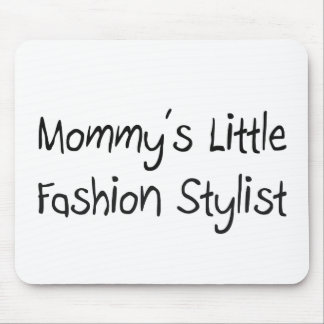 Mommys Little Fashion Stylist Mouse Mat
