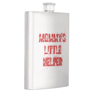 Mommy's Little Helper Mother's Day Flask