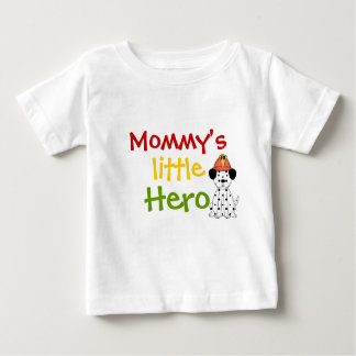 Mommy's Little Hero Dalmation Childs Tee Shirt