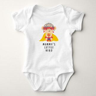 Mommy's Little Hero (Girl) Baby Bodysuit