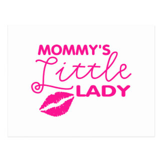 Mommy's Little Lady Post Card