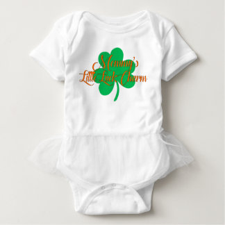 Mommy's Little Luck Charm St. Patrick's Day Baby Bodysuit
