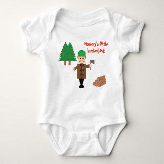 Mommy's Little Lumberjack | Baby Bodysuit