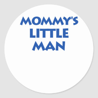 Mommy's Little Man Stickers