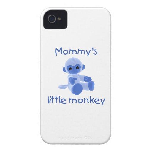 Mommy's Little Monkey (blue) Blackberry Bold Cases