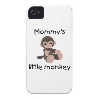 Mommy's Little Monkey (brown) iPhone 4 Cover